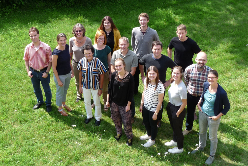 Members of the project team during the kick-off meeting (photo: Fabian Heitmann)