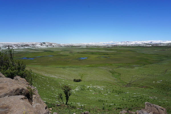 The uMngeni Vlei, a Ramsar protected wetland area. © Evelyn Lukat